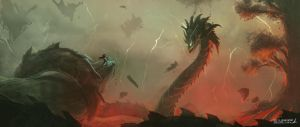 Speed Paint Session 3 by bustercloud