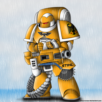 Heavy Cutter - Stihl Marines by Empyronaut
