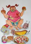 Gluttonous gluttony. by Mario-19