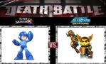 Death Battle Megaman vs Rachet by Werewolf-Hero
