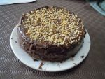 Chocolate Banana and Hazelnut cake by awesomeizzy