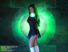 Jessica - Green Lantern 02 by JimCorrigan