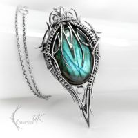 XITRNYR - silver and labradorite. by LUNARIEEN