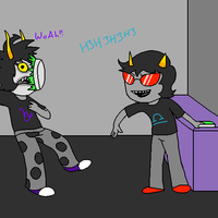 Gamzee+Terezi +Request+ by TheBLUGineerGirl