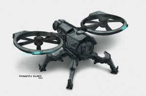 Unmanned Rotorcraft by GAORANYU