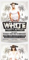 White Affair Party Template by saltshaker911