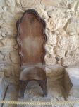 Knossos ruins - old chair by NIQ85