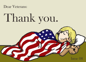 Happy Veteran's Day by breegeek