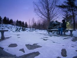 Winter Shooting @ The Gardens by KBeezie