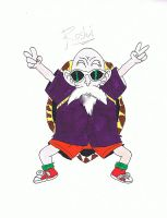 master roshi by anovacore