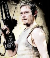 Daryl Dixon aka Norman Reedus in The Walking Dead by emiliebonnet007