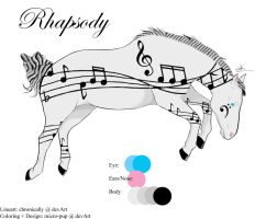 Character: Rhapsody by micro-pup