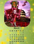 2014 calendar-March by Bj-Lydia