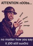 lesson for teh noobs by n0-4rt-sk1llz