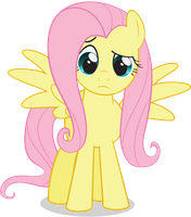 Fluttershy Confused by juniberries
