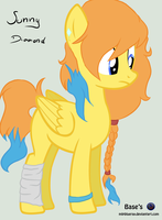 MLP FIM-Crystal Sunny Diamond by Patrycja0110