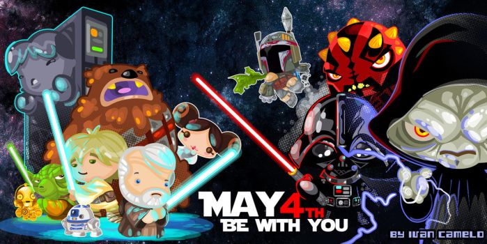 May the 4 be with you!!! by vancamelot