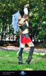 Esumi Aoi Miqo'te Outfit FFXIV Cosplay by Evil-Siren