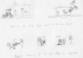 Cycling in Leeds comic by crawdadEmily