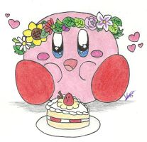 Birthday babu by LovelyKirbyGirly