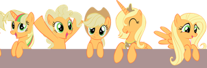 My Little Applejacks by OceanBreezeBrony