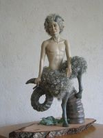 Ciaran, my faun by toniawezerijn