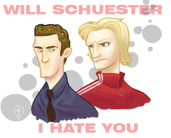Will Schuester I Hate You by dawningsun