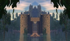 Manipulated Castle by Topas2012