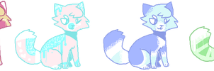 Name a price adoptables! 3 LEFT by callikat