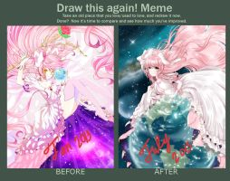 Ultimate Madoka - Before and After- meme by Ayasal