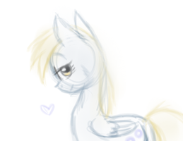 Pretty Derpy by ive-moved-bitches
