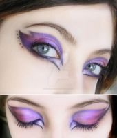 make-up purple by Dead-Rose-16