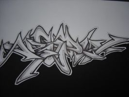 sketch wildstyle by jaspie1