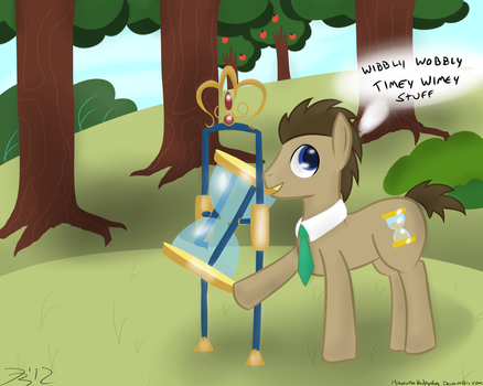 Doctor Whooves by MikorutheHedgehog