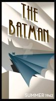 ART DECO BATMAN by rodolforever