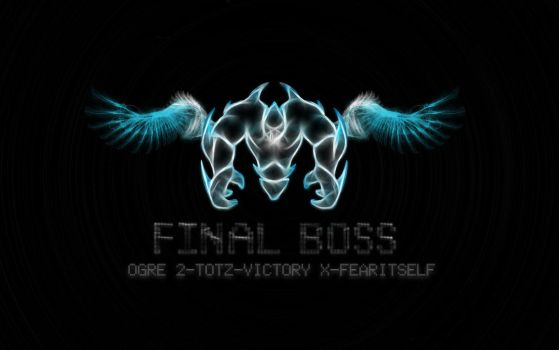FinalBoss wallpaper_text Edit by thehalo1