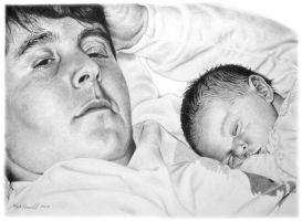 Father and Baby by MarkosTheGreat