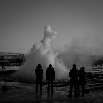 Geyser watching by capougirl