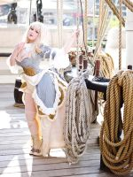 Now this year... I'M ACTUALLY ON THE BOAT! by UxiCosplay