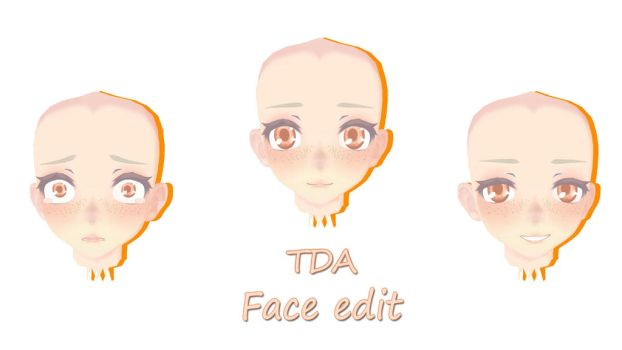 {MMD} TDA Face edit {DL} by EraMMD