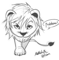Glee: Lion Quinn by SolitaryRoyalty