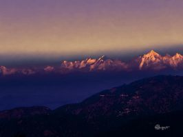The Majestic Himalayas by DebasishPhotos