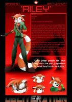 Riley's character profile by GoneIn10Seconds