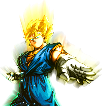 This is Super Vegetto by kurizell123