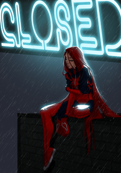 Scarlet MJ by UltimateTattts