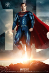 Superman Justice League Poster by Bryanzap