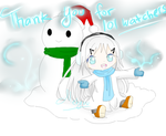 Thank You for 101 Watchers by Metyuu