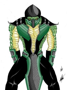 Reptile by infamously-dorky