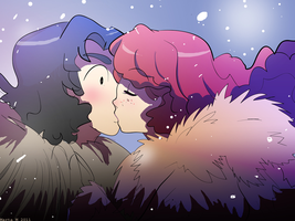 ASOIAF - Jon and Ygritte by rachitick