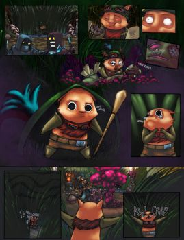 Teemo's Messed Up Trip by thanekats